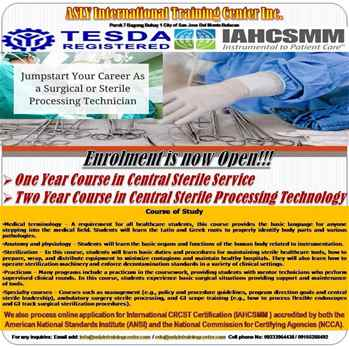 Central Sterile Processing Technology